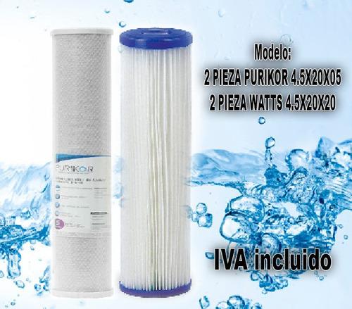 asesoria como mejorar la calidad del agua con filtros