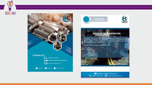 asesoría comunicacionales en diseño gráfico, web, imprenta