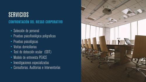 asesoría consultoria empresarial poligrafia servicio multi