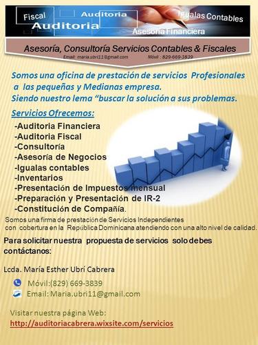 asesoría-consultoria-servicios contables y fiscales