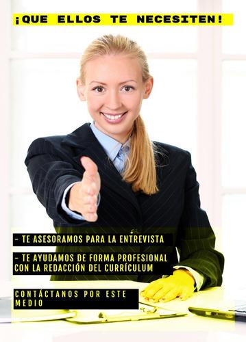 asesoría de entrevistas y currículum