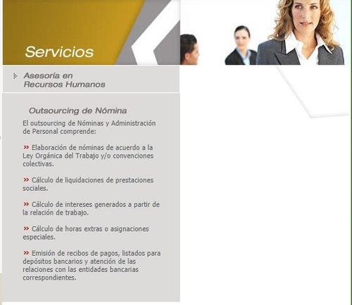 asesoria de rrhh, contabilidad, admon y laboral