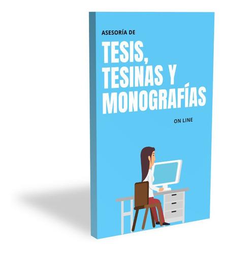 asesoría de tesis, tesinas, monografías e investigaciones