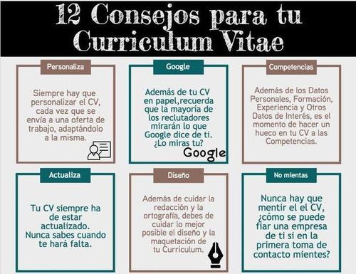 asesoría & diseño de currículum vitae