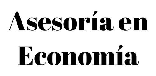 asesoria economia, analisis de datos, excel, spss, stata
