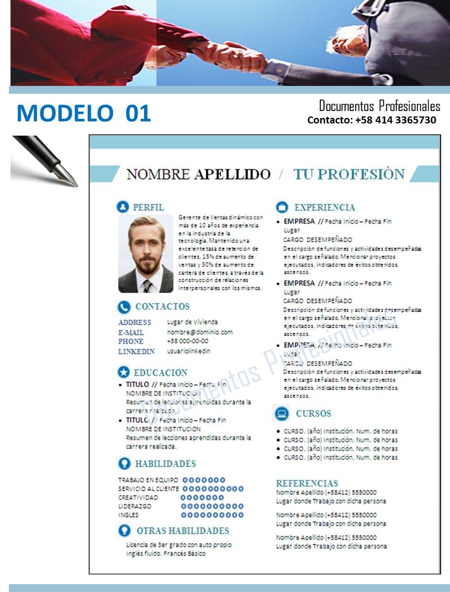 Asesoría En Elaboración De Curriculum / Linkedin - Bs. 38.500,00 en ...