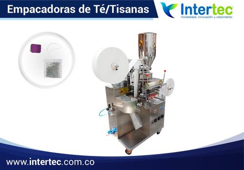 asesoría en máquinas empacadoras de té / tisanas -aromáticas