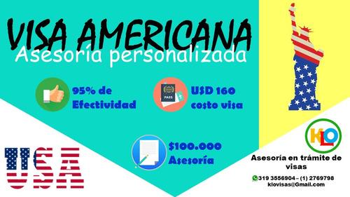 asesoría en trámite de visas- cubrimiento nacional