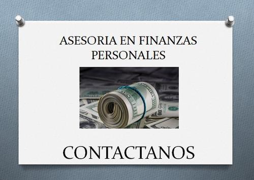 asesoría financiera personal