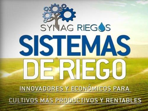 asesoria integral en sistemas de riego synag riegos