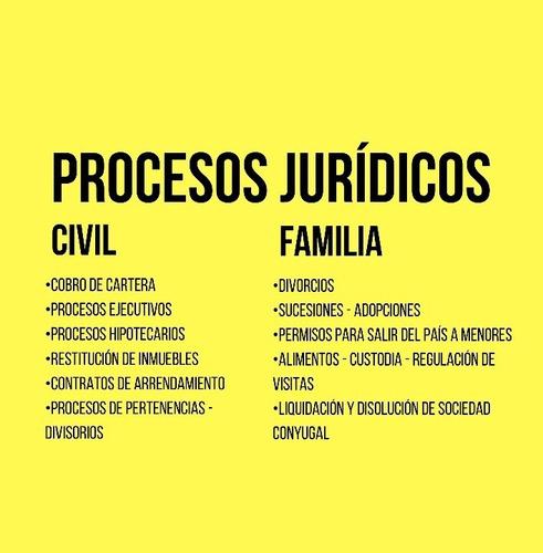 asesoría jurídica en civil y familia