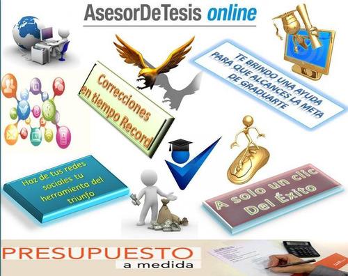 asesoría metodológica asesoría elaboración de tesis y mas