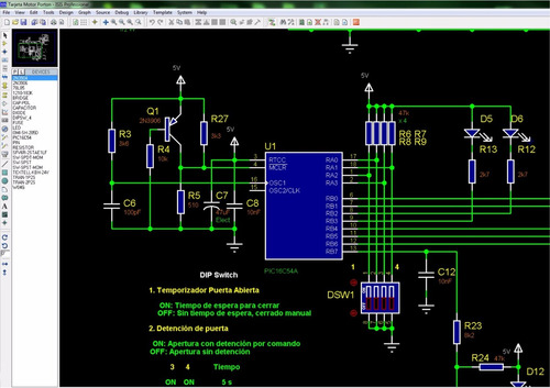 asesoría proyectos electrónica pic plc microcontroladores