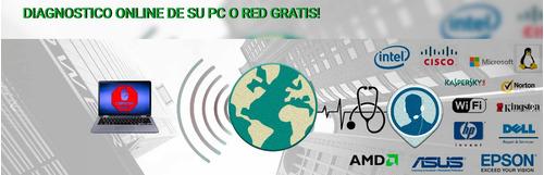 asesoría soporte técnico sistemas,diagnostico on-line gratis