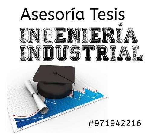 asesoría tesis ingeniería industrial upc pre post epe