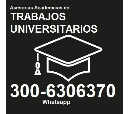 asesoría y apoyo en trabajos universitarios