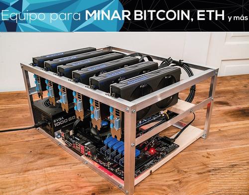 asesoria y soporte para equipos de mineria bitcoin, ethereum