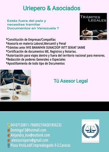 asesoría y tramites legales