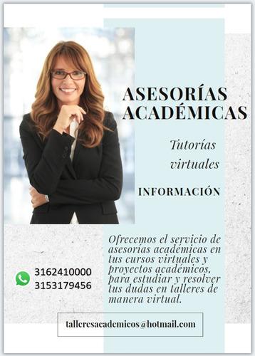 asesorías académicas virtuales