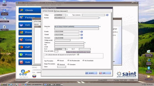 asesorias consultorias de sistemas adminitrativos