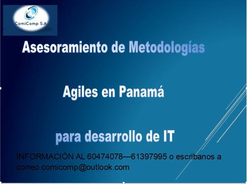 asesorias de metodologias agiles en todo panamá