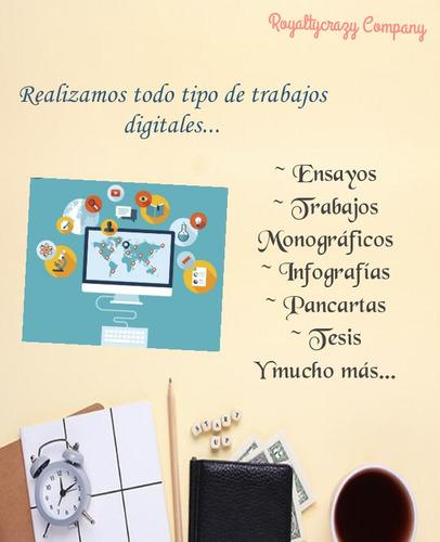 asesorías de trabajos especiales y digitales