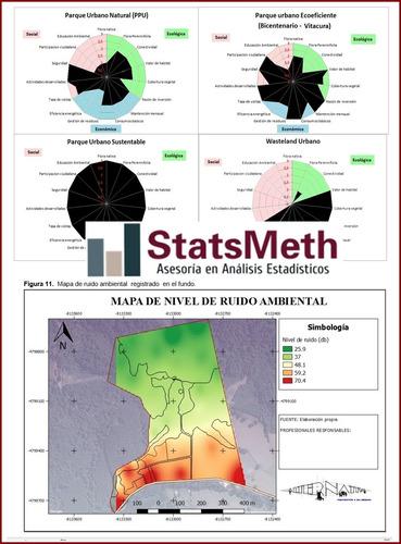 asesorías estadísticas para tesis, informes, papers, etc