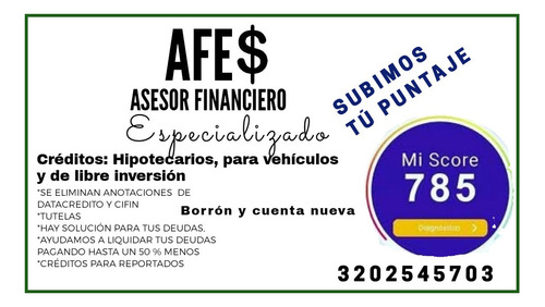 asesorias financieras
