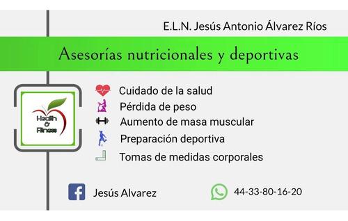 asesorías nutricionales y deportivas