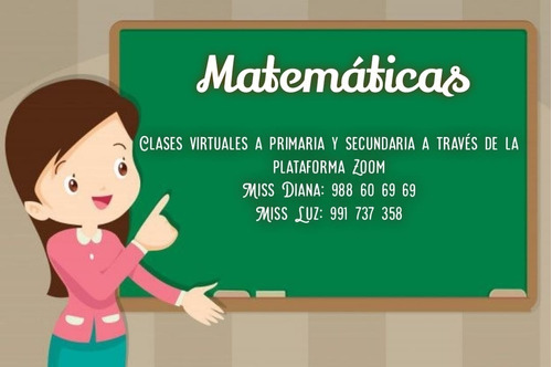 asesorias virtuales de matemáticas