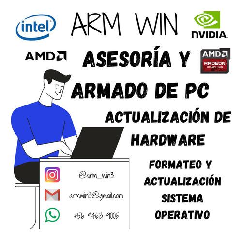 asesorías y servicio técnico computacional
