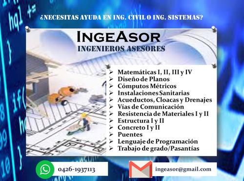 asesorías y tesis de ingeniería