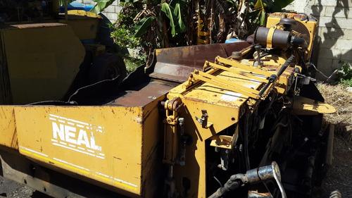 asfaltadora de oruga (finish), marca neal m-450