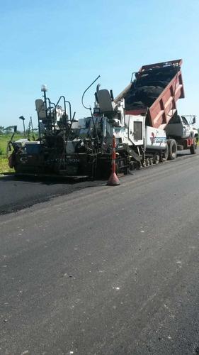 asfaltadora -muy buena finisher de orugas de hasta 9 metros.
