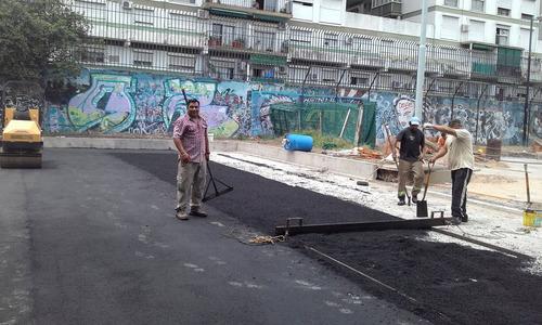 asfalto, bacheo en caliente,colocacion de carpeta asfaltica.