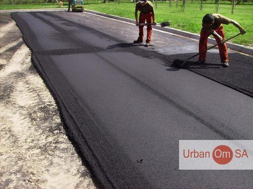 asfalto en caliente servicio de pavimentacion