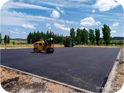 asfalto en caliente y asfalto fresado mejorado