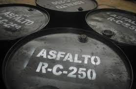 asfalto rc 250 diluido -cemento asfaltico 85/100 en obra