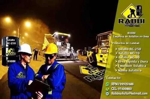 asfalto rc- 250 diluido, envio a su domicilio
