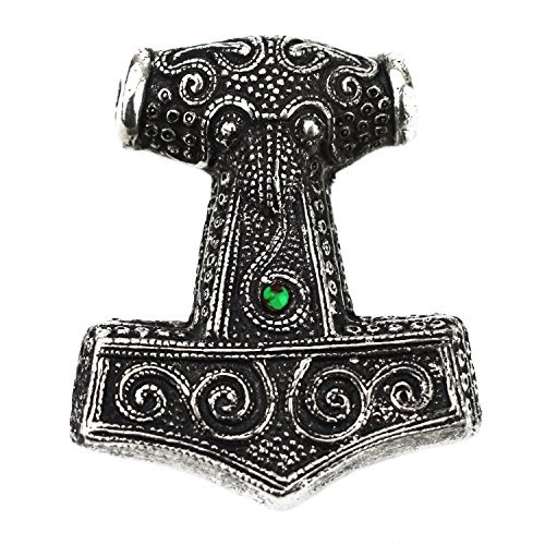 asgard vikingo pagano skåne martillo mjolnir colgante - ve