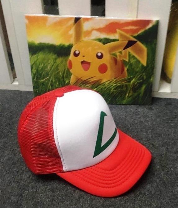 Ash Gorra Trucker Unisex Gorro Nylon Pikachu Pokemon - S  42 dc00cbeaf36