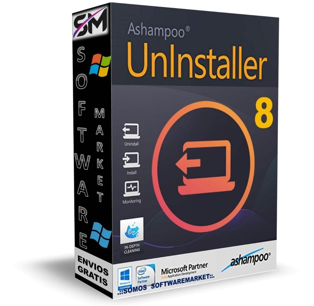 Ashampoo Uninstaller 8 -no Más Desinstalaciones Defectuosas - $ 180,00