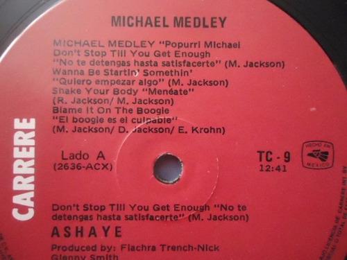 ashaye / michael medley - animal mix vinyl lp