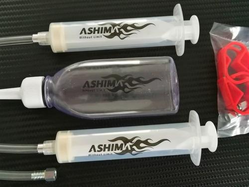 ashima rite toolz kit de purgado para frenos shimano