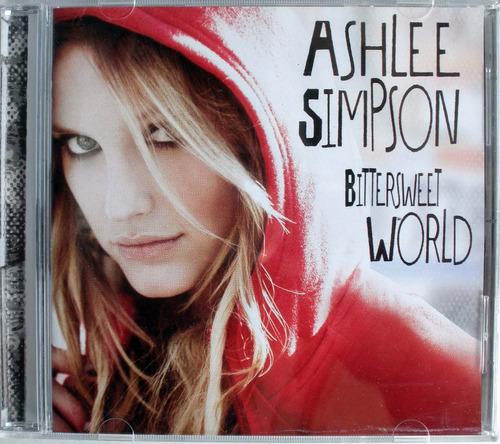 ashlee simpson - bittersweet world - cdpromo nacional