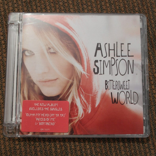 ashlee simpson - bittersweet world (special uk edition)
