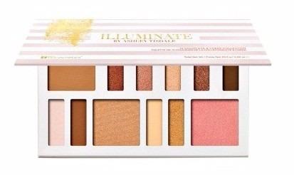 ashley tisdale paleta de 9 sombras y 3 rubores bh cosmetics