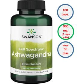 Ashvagandha Mega Potencia 900 Mg (dos Capsulas) Anti Estrés