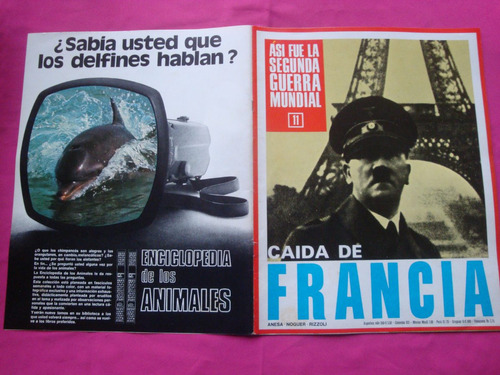 asi fue la segunda guerra mundial n° 11 - caida de francia