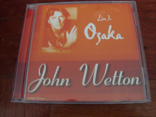 asia john wetton live in osaka 2 cd made in eu